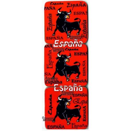 Posavasos toros + España