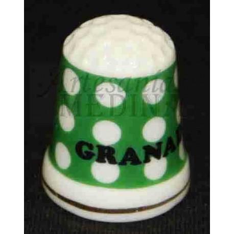 Dedal Granada lunares verde