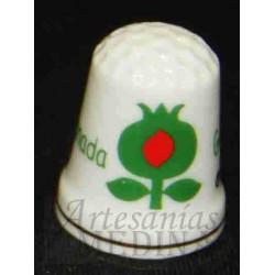 Dedal flor de la Granada verde