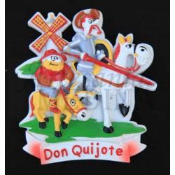 Imán Quijote dibujo