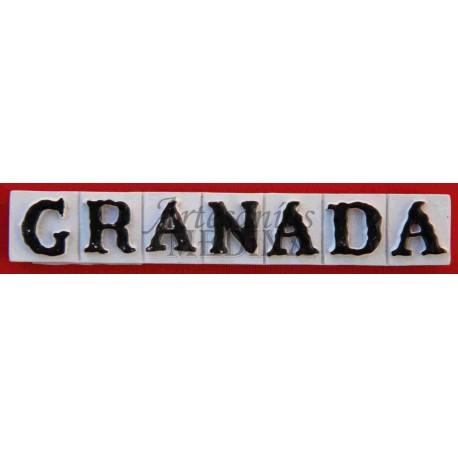 Imán letras Granada