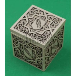 Caja arabesco con escudo y Granada