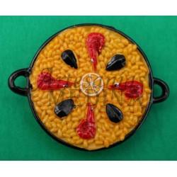 Imán paella