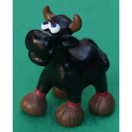 Figura  de un toro negro
