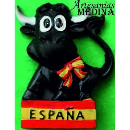 Imán toro con España