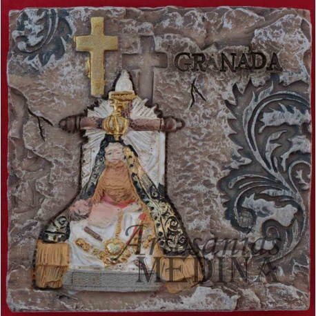 Placa Virgen de las Angustias
