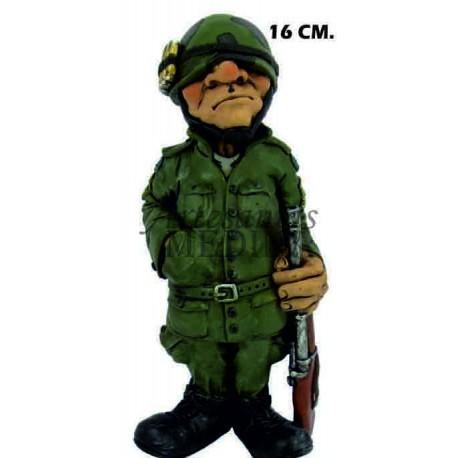 Figura militar camuflaje
