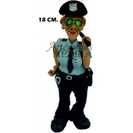 Figura mujer policia