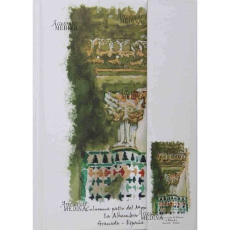 Libreta capitel de La Alhambra.