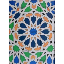Libreta arabesco colores.