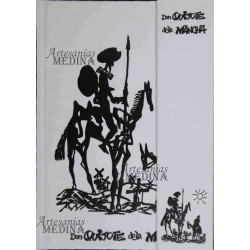 Libreta Don Quijote de la Mancha B/N