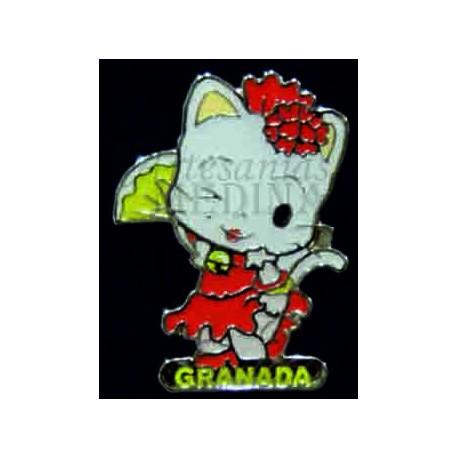 Pin gatita Granada