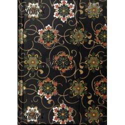 Libreta arabesco flor negro