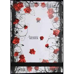 Libreta rosas rojas
