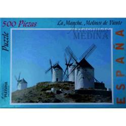Puzzle Molinos de Viento, La Mancha