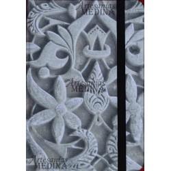 Libreta arabesco piedra