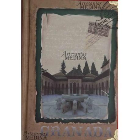 Libreta Patio de los Leones vintage