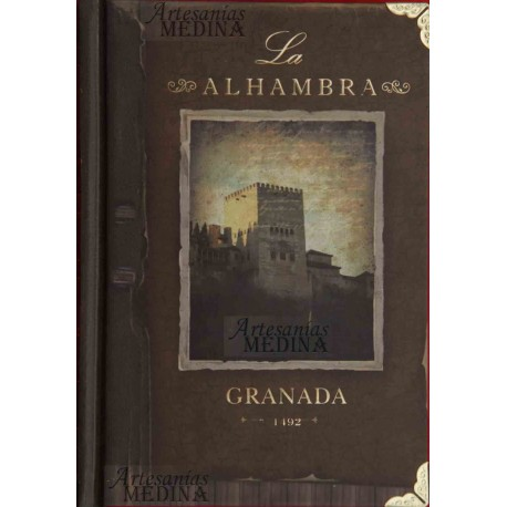 Libreta la Alhambra ventana