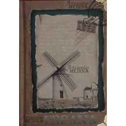 Libreta molinos de viento