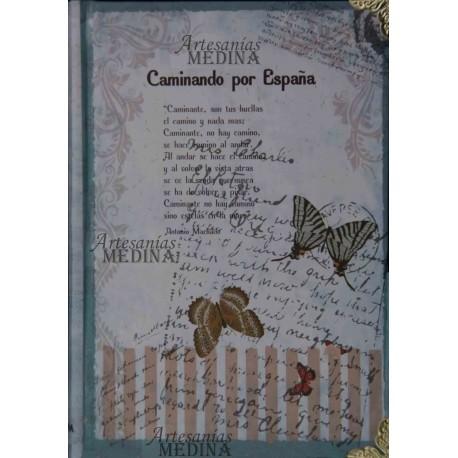 Libreta poesía Machado