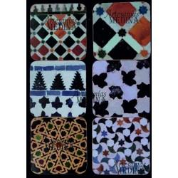 Posavasos arabesco azulejos