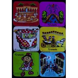 Posavasos cómic Granada