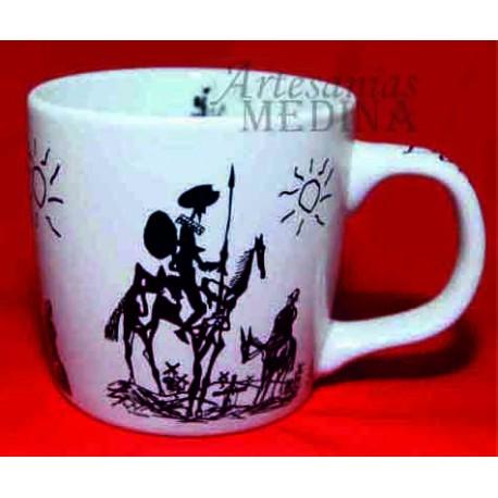 Tazón Don Quijote  de la Mancha.